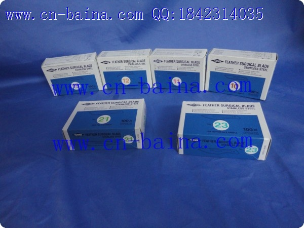 Janpan feather surgical blade 15 12 11 10 21 23