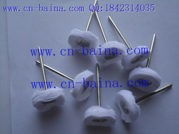 Polishing cotton wheel with handle cloth polishing